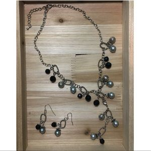 Jewelry - Statement Necklace with Matching Earrings